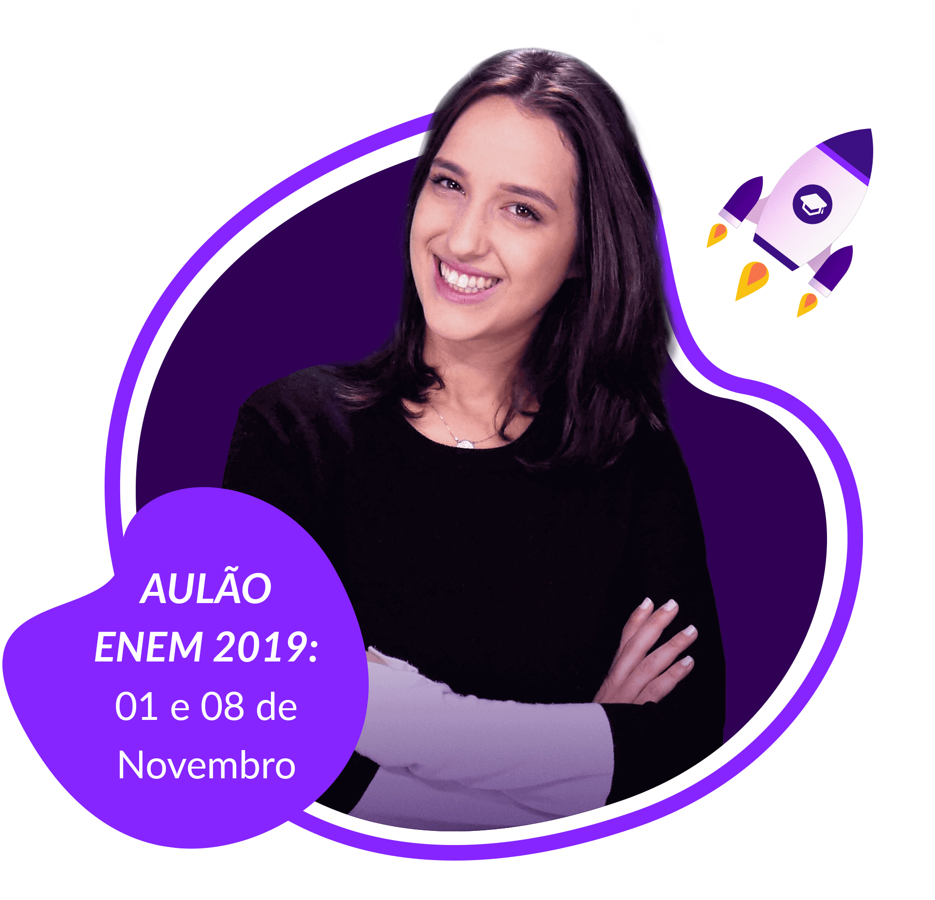 Laura do Stoodi aulão Enem 2019