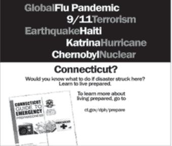 Cartaz de Connecticut disponível na internet